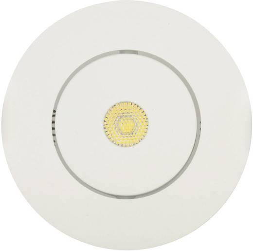 LED-Einbauleuchte 7 W Warm-Weiß JEDI Lighting Integra JE12610 Weiß