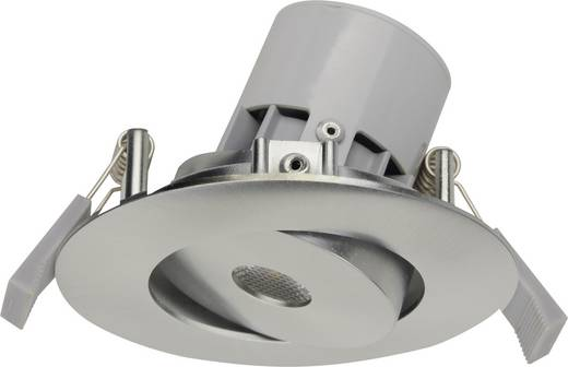 LED-Einbauleuchte 7 W Warm-Weiß JEDI Lighting Integra JE12617 Aluminium (gebürstet)
