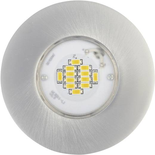 LED-Einbauleuchte 6.5 W RGB JEDI Lighting Integra JE12417 Aluminium (gebürstet)