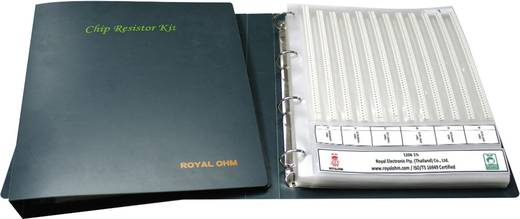 Dickschicht-Widerstand Sortiment SMD 1206 0.25 W 1 % Royalohm 1206S4FE024KIT 12100 St.