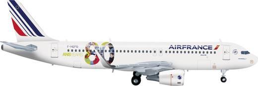 """Luftfahrzeug 1:200 Herpa Air France Airbus A320 """"80th Anniversary"""" 556255"""