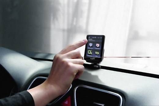 Bury CC9068 Einbau-Bluetooth®-Freisprecheinrichtung mit Touchscreen