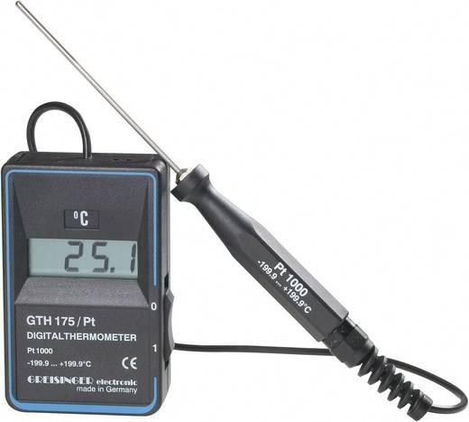 Greisinger GTH 175/PT Temperatur-Messgerät -199.9 bis +199.9 °C Fühler-Typ Pt1000 Kalibriert nach: DAkkS