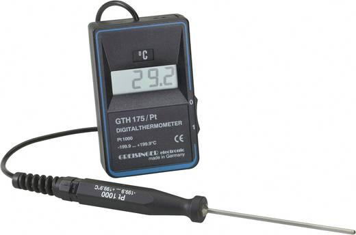 Temperatur-Messgerät Greisinger GTH 175/PT -199.9 bis +199.9 °C Fühler-Typ Pt1000 Kalibriert nach: DAkkS