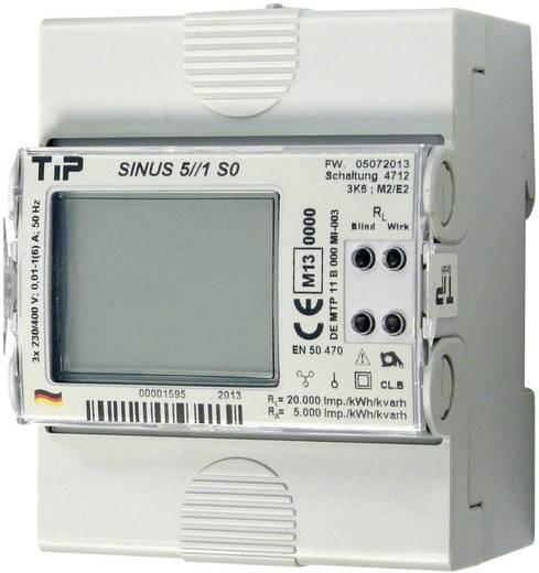 TIP SINUS 5//1 M-BUS Drehstromzähler mit Wandleranschluss digital MID-konform: Ja
