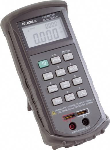 Komponententester digital VOLTCRAFT LCR 4080 Kalibriert nach: ISO CAT I Anzeige (Counts): 20000