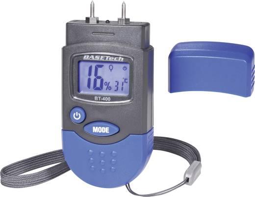 Materialfeuchtemessgerät Basetech BT-400 Messbereich Baufeuchtigkeit (Bereich) 0.2 bis 2 % vol Messbereich Holzfeuchtigk
