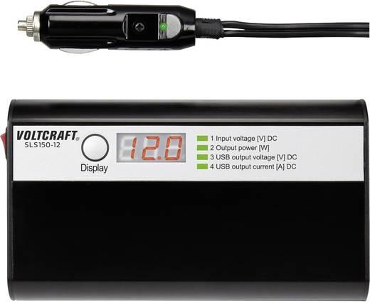 Wechselrichter VOLTCRAFT SLS-150-12 150 W 12 V/DC 11 - 15 V/DC Zigarettenanzünder-Stecker