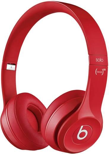 Kopfhörer Beats Solo² On Ear On Ear Faltbar, Headset Rot