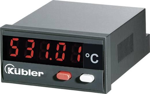 Kübler CODIX 531 Temperatur-Anzeige CODIX 531 - 19999 bis + 99999 °C Einbaumaße 45 x 22 mm Kalibriert nach ISO