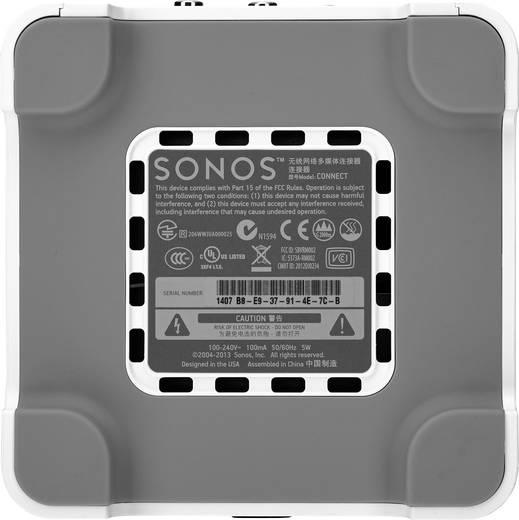 Multiroom Komponente Sonos CONNECT:AMP WLAN, LAN Weiß, Silber