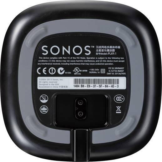 Multiroom Lautsprecher Sonos Play:1 WLAN, LAN Schwarz