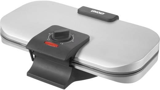 Doppel-Waffeleisen mit manueller Temperatureinstellung Unold 48241 Edelstahl