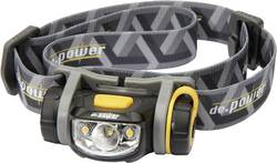 LED čelovka DP-800 De.power, DP-800AA, černá/šedá