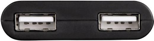 2 Port USB 2.0-Hub mit OTG-Funktion Hama Schwarz