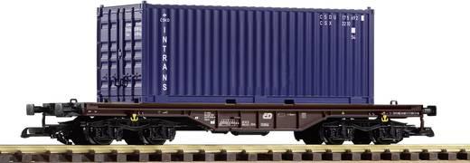 Piko G 37728 G Flachwagen der CD 20` Container Intrans