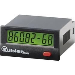 Počítadlo provozních hodin Kübler Codix 134, 10 - 260 V AC/DC
