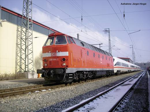 Piko H0 59838 H0 Diesellok BR 219 Museumslok der DB AG