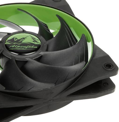 EKL Alpenföhn Wing Boost 2 PC-Gehäuse-Lüfter Grün (B x H x T) 120 x 120 x 25 mm