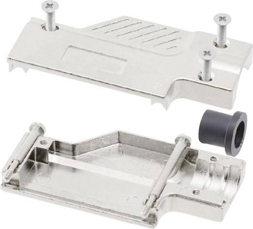 D-SUB Gehäuse Polzahl: 9 Metall 90 ° Silber MH Connectors MHDCMR09-ULP 1 St.