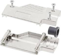 Capot SUB-D 25 pôles MH Connectors 1060-0135-03 métal 90 ° argent 1 pc(s)