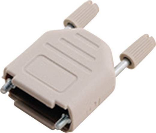 D-SUB Gehäuse Polzahl: 9 Kunststoff 180 ° Hellgrau MH Connectors MHDPPK9-LG-K 1 St.
