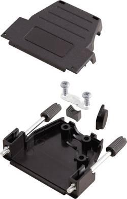 Capot SUB-D 15 pôles MH Connectors 6260-0107-02 matière plastique 180 °, 45 ° noir 1 pc(s)