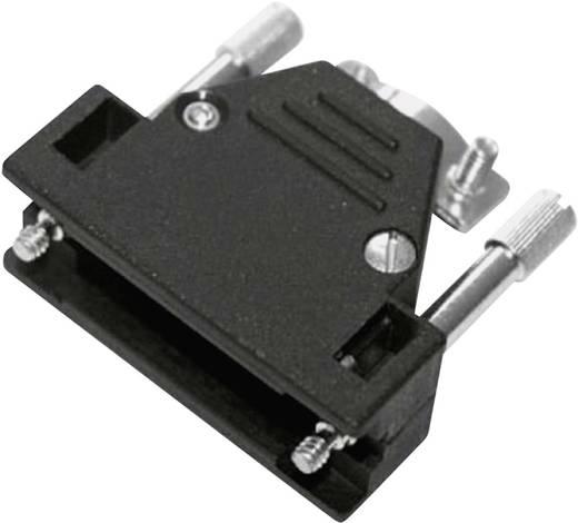 D-SUB Gehäuse Polzahl: 9 Kunststoff, metallisiert 180 ° Silber MH Connectors 2801-0106-01 1 St.