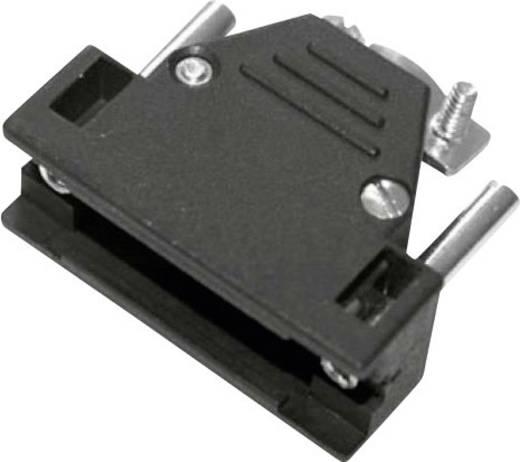 D-SUB Gehäuse Polzahl: 15 Kunststoff 180 ° Schwarz MH Connectors 2801-0102-12-8 1 St.