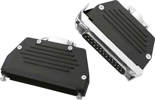 D-SUB Gehäuse Polzahl: 9 Kunststoff 180 °, 45 ° Schwarz MH Connectors MHED-DS09S 1 St.