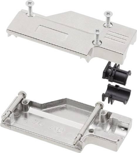 D-SUB Gehäuse Polzahl: 25 Metall 90 ° Silber MH Connectors MHDCMR25-RA-K 1 St.