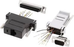 Adaptateur SUB-D SUB-D femelle 25 pôles - RJ45 femelle MH Connectors DA25-SMJ8-M-K-RC 1 pc(s)