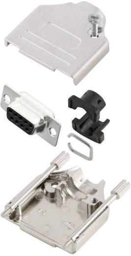 D-SUB Buchsenleisten-Set 180 ° Polzahl: 9 Lötkelch MH Connectors MHDTZK9-DM9S-K 1 St.
