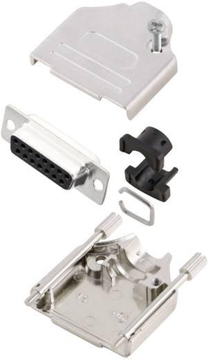 MH Connectors MHDTZK15-DB15S-K D-SUB Buchsenleisten-Set 180 ° Polzahl: 15 Lötkelch 1 St.