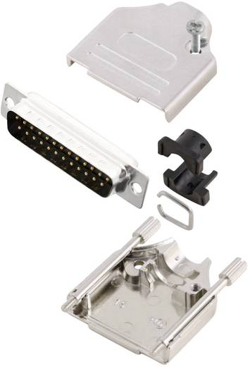 MH Connectors MHDTZK25-DB25P-K D-SUB Stiftleisten-Set 180 ° Polzahl: 25 Lötkelch 1 St.