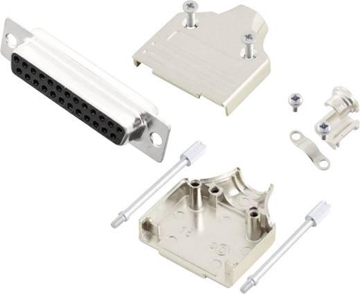 D-SUB Buchsenleisten-Set 180 ° Polzahl: 25 Lötkelch MH Connectors MHDM25-DM25S-K 1 St.