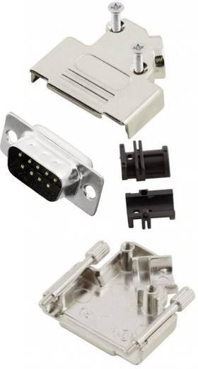 D-SUB Stiftleisten-Set 45 ° Polzahl: 9 Lötkelch MH Connectors MHD45ZK9-DM9P-K 1 St.