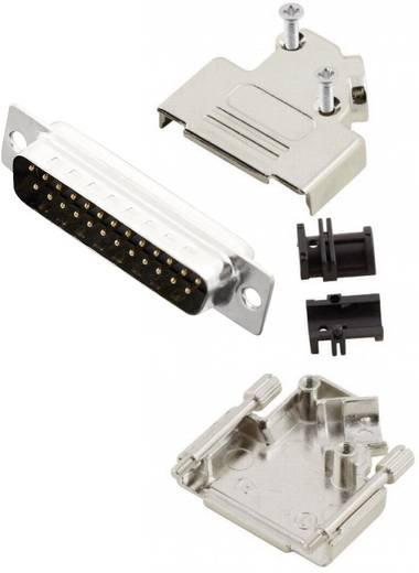 D-SUB Stiftleisten-Set 45 ° Polzahl: 25 Lötkelch MH Connectors MHD45ZK25-DB25P-K 1 St.