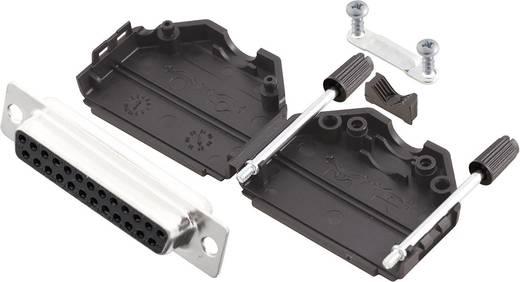 D-SUB Buchsenleisten-Set 180 ° Polzahl: 25 Lötkelch MH Connectors MHDPPK25-DB25S-K 1 St.