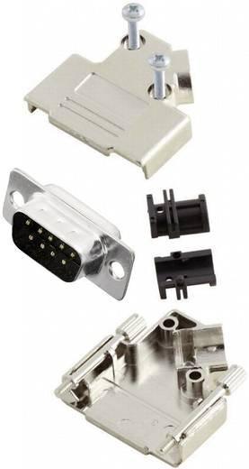 MH Connectors MHD45PK9-DB9P-K D-SUB Stiftleisten-Set 45 ° Polzahl: 9 Lötkelch 1 St.