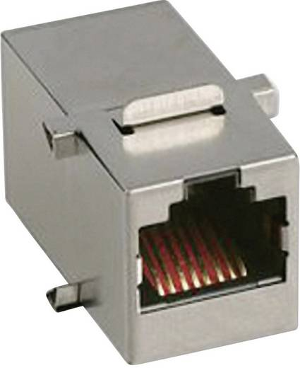 RJ45-Kupplung Buchse, Einbau MH3101S-CAT6 Metall MH Connectors 2101-0115-06 1 St.
