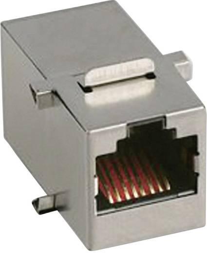 RJ45-Kupplung Buchse, Einbau MH3101S-CAT6A Metall MH Connectors 2101-0115-07 1 St.
