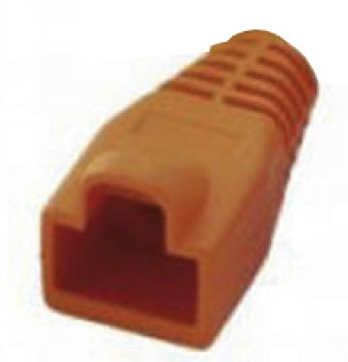 RJ45-Knickschutztülle MHRJ45SRB-O Orange MH Connectors 6510-0100-09 1 St.