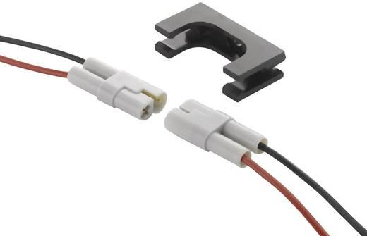 Unisex-Kabelsteckverbinder-Anschlusskabel Pole: 2 Inkl. Litzen schwarz/rot 8.5 A 520-210-002-ASSY EDAC 1 St.