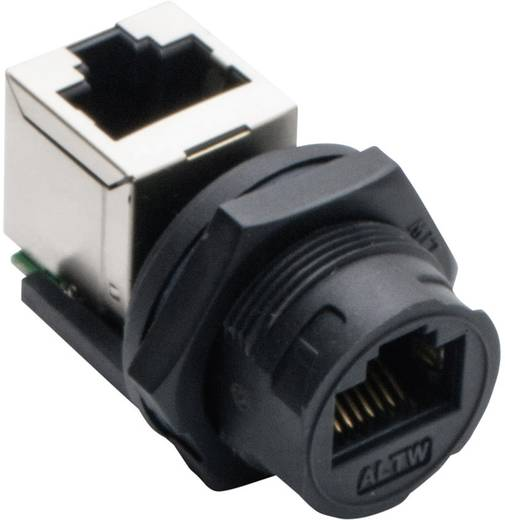 Sensor-/Aktor-Datensteckverbinder Buchse, gerade, Buchse, gewinkelt Polzahl: 8P8C Amphenol LTW 2610-0402-01 RCP-5SPFFV