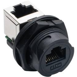 Image of Amphenol LTW 2611-0402-01 Sensor-/Aktor-Einbausteckverbinder Buchse, Einbau, Buchse, gewinkelt Polzahl: 8P8C 1 St.