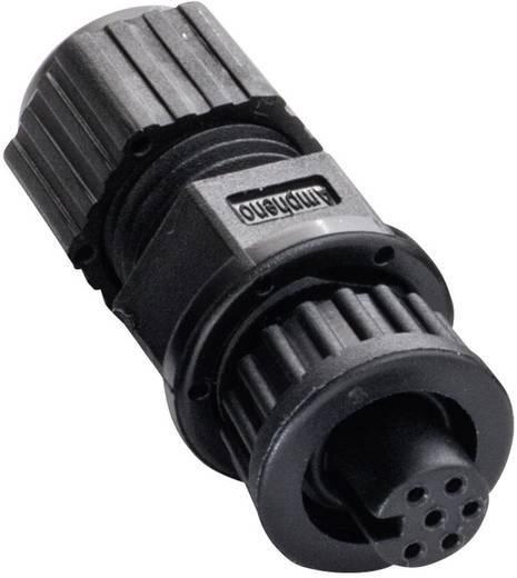 Miniatur-Rundsteckverbinder Pole: 6 2655-0100-07 Amphenol LTW 1 St.