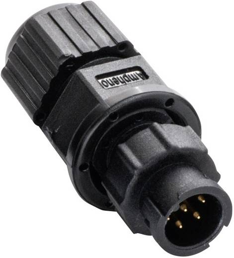 Miniatur-Rundsteckverbinder Pole: 4 2650-0001-13 Amphenol LTW 1 St.