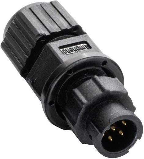 Miniatur-Rundsteckverbinder Pole: 4 AU-04BMMA-LL7001 2650-0001-13 Amphenol LTW 1 St.