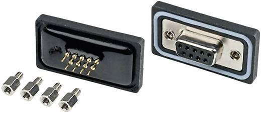 D-SUB Stiftleiste 180 ° Polzahl: 15 Löten Amphenol LTW SDB-15PMMP-SL8001 1 St.